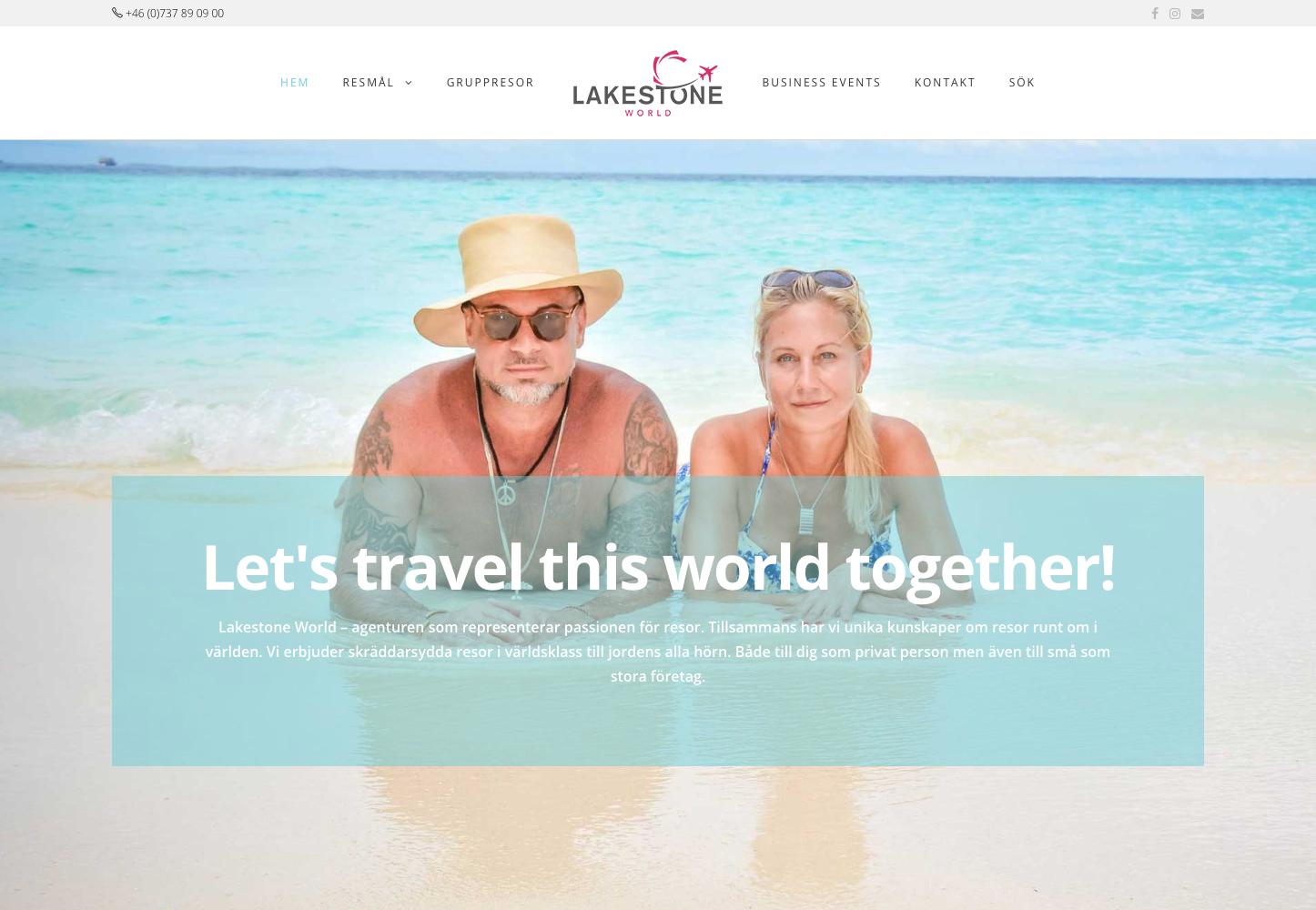 Webb Lakestone World